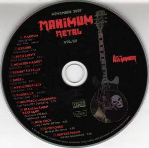 Metal Hammer - Maximum Metal Vol. 121 (CD) - Bild 3