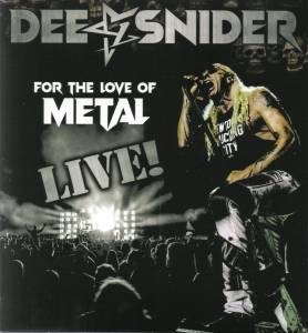 Cover - Dee Snider: For The Love Of Metal Live!