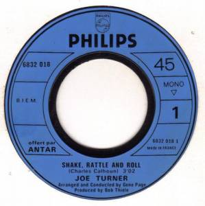 "Joe Turner: Shake Little And Roll / Two Loves Have (7"") - Bild 3"