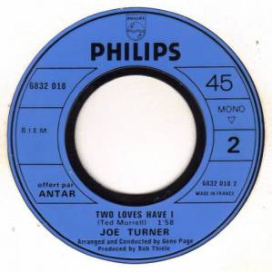 "Joe Turner: Shake Little And Roll / Two Loves Have (7"") - Bild 4"