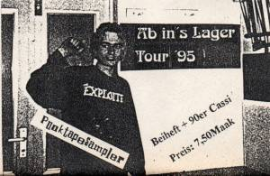 Cover - N.O.E.: Ab In's Lager Tour '95
