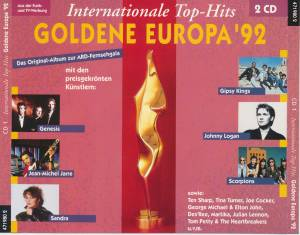 Cover - Denise: Internationale Top-Hits Goldene Europa '92