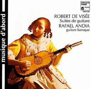 Robert de Visée: Suites De Guitare - Cover