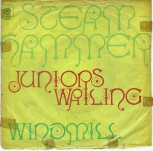 Cover - Steamhammer: Juniors Wailing