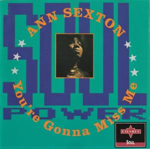 Cover - Ann Sexton: You're Gonna Miss Me