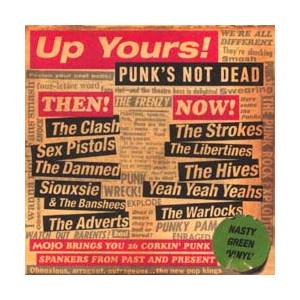 Mojo # 112 - Up Yours!: Punk's Not Dead - Cover