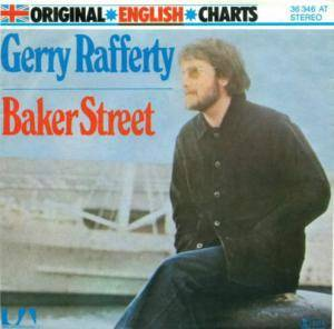 "Gerry Rafferty: Baker Street (7"") - Bild 1"