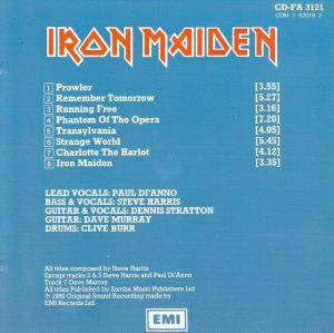 Iron Maiden: Iron Maiden (CD) - Bild 3