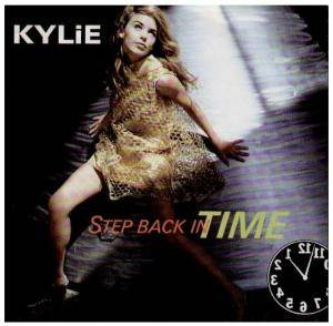 Kylie Minogue: Step Back In Time - Cover