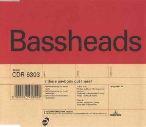 Bassheads: Is There Anybody Out There? - Cover