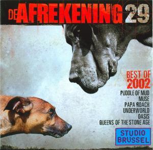 De Afrekening 29: Best of 2002 - Cover