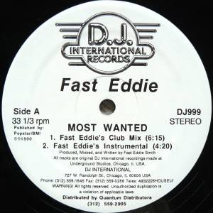 Cover - Fast Eddie: Most Wanted