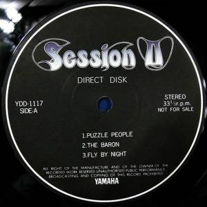 Session II: Session II (Promo-LP) - Bild 2