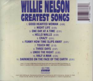 Willie Nelson: Greatest Songs (CD) - Bild 2