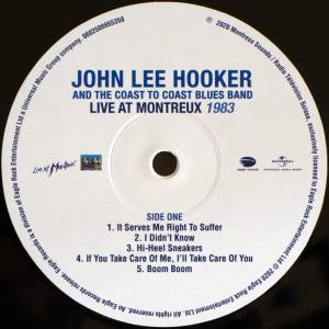 John Lee Hooker & The Coast To Coast Blues Band: Live At Montreux 1983 & 1990 (2-LP) - Bild 7