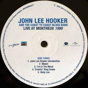 John Lee Hooker & The Coast To Coast Blues Band: Live At Montreux 1983 & 1990 (2-LP) - Bild 9