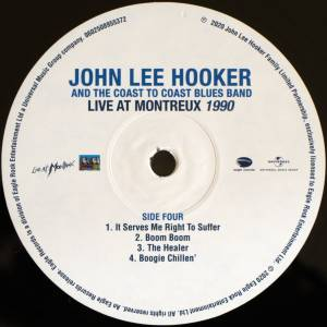John Lee Hooker & The Coast To Coast Blues Band: Live At Montreux 1983 & 1990 (2-LP) - Bild 10