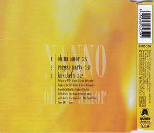 Nanno: Oh Mi Amour (Single-CD) - Bild 2