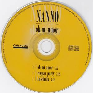 Nanno: Oh Mi Amour (Single-CD) - Bild 3