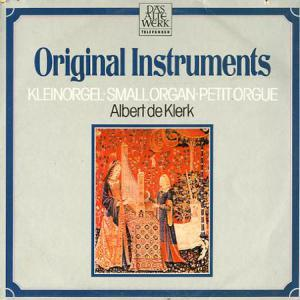 Original Instruments / Kleinorgel - Cover