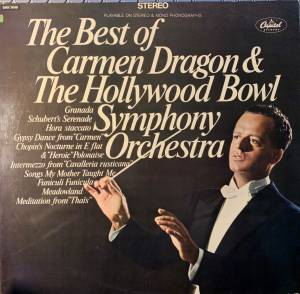 Cover - Agustín Lara: Best Of Carmen Dragon & The Hollywood Bowl Symphony Orchestra, The