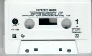 Depeche Mode: Condemnation (Tape-EP) - Bild 2