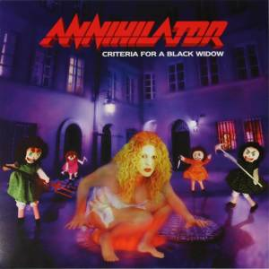 Annihilator: Criteria For A Black Widow (CD) - Bild 1