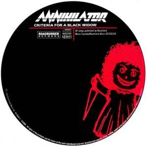 Annihilator: Criteria For A Black Widow (CD) - Bild 4