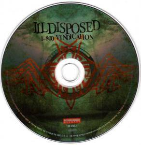 Illdisposed: 1-800 Vindication (CD) - Bild 3