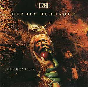 Dearly Beheaded: Temptation - Cover