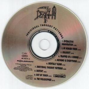 Death: Individual Thought Patterns (CD) - Bild 3
