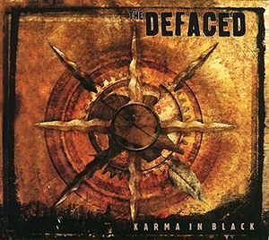 The Defaced: Karma In Black - Cover