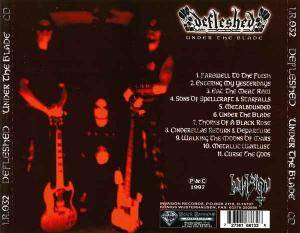 Defleshed: Under The Blade (CD) - Bild 4