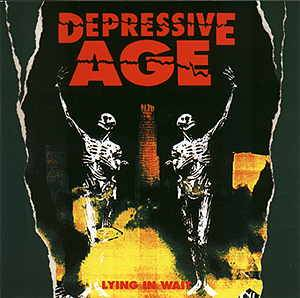Depressive Age: Lying In Wait - Cover