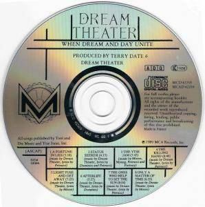 Dream Theater: When Dream And Day Unite (CD) - Bild 3