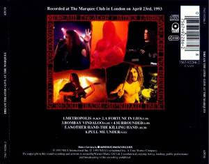Dream Theater: Live At The Marquee (CD) - Bild 2