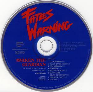Fates Warning: Awaken The Guardian / No Exit (2-CD) - Bild 3