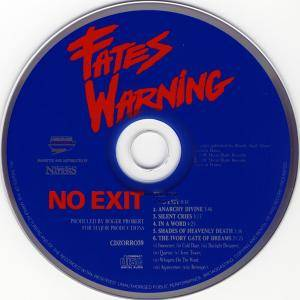 Fates Warning: Awaken The Guardian / No Exit (2-CD) - Bild 4
