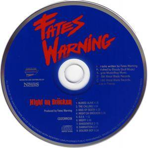 Fates Warning: Night On Bröcken / The Spectre Within (2-CD) - Bild 3