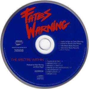 Fates Warning: Night On Bröcken / The Spectre Within (2-CD) - Bild 4