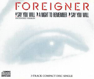 Foreigner: Say You Will - Cover