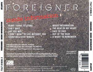 Foreigner: Inside Information (CD) - Bild 5