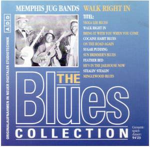 Cover - Memphis Jug Band: Walk Right In