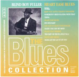 Cover - Blind Boy Fuller: Heart Ease Blues