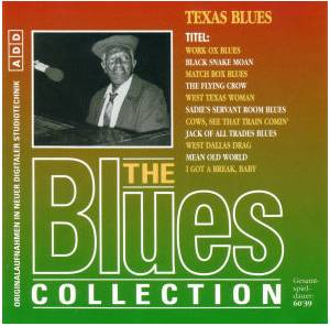 Cover - Smokey Hogg: Blues Collection - Texas Blues, The