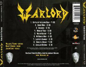 Warlord: Rising Out Of The Ashes (CD) - Bild 2