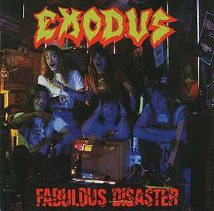 Cover - Exodus: Fabulous Disaster