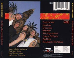 Exhorder: Slaughter In The Vatican (CD) - Bild 2