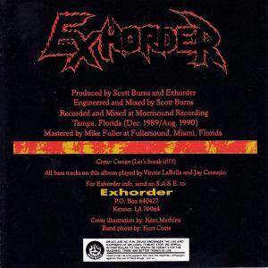 Exhorder: Slaughter In The Vatican (CD) - Bild 3