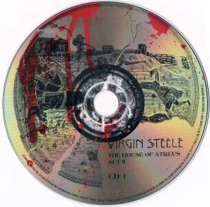 Virgin Steele: The House Of Atreus Act II (2-CD) - Bild 7